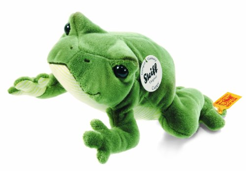Steiff 281471 - Cappy Frosch 20 cm, Gruen