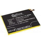 cellePhone Akku Li-Polymer kompatibel mit ZTE Blade V8 (Ersatz für Li3927T44P8h786035)