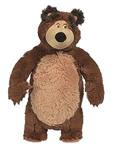 Simba Masha - Oso de Peluche, 40 cm, Multicolor, 4052351026747
