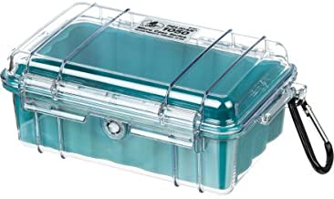 Waterproof Case   Pelican 1040 Micro Case - for GoPro, Camera, and More (Aqua/Clear)