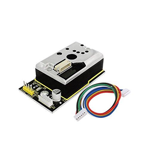 KEYESTUDIO Pm2.5 Dust Sensor Pm2.5 Air Particle Monitor for Arduino Mega Controller R3 Nano Micro Pro Mini