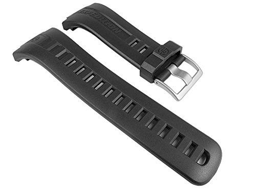 Timex Expedition di ricambio cinturino PU Band impermeabile nero Band per T49900, T49902