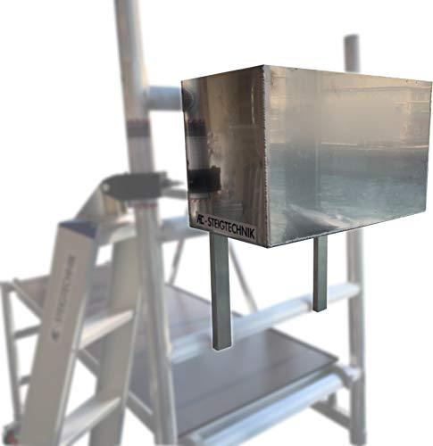 AC Steigtechnik AC Werkzeugbox zum einhängen | Aluminium | Rollrüstung | Zimmerfahrgerüst | Gerüst | Zimmergerüst