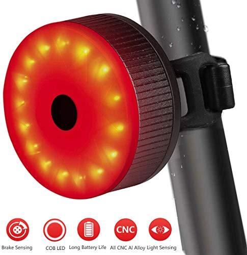 Meowtutu Rücklicht Fahrrad LED Fahrradlicht - Fahrradlichter mit USB-Kabel und Wasserdicht für Mountainbike, Fahrradlampe