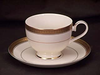 Mikasa Palatial Gold #L3234 Cups & Saucers