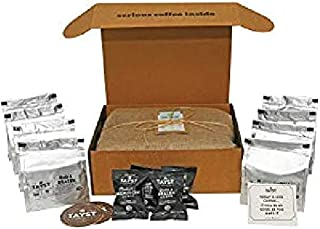 Tayst Coffee Pods | 100 ct. Sample Box | 100% Compostable Keurig K-Cup compatible | Gourmet Coffee in Earth Friendly packaging