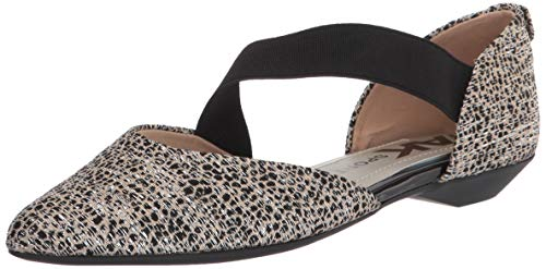 Anne Klein womens Outer Mary Jane Flat, Metallic Natural, 10 US