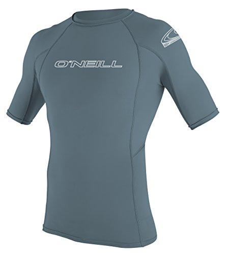 ONEILL WETSUITS Herren Uv Schutz Basic Skins S/S Crew Rash Vest, Dusty Blue, S