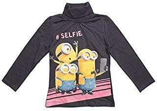 Girls Despicable Me Minions Short Sleeve Tunic Jumper Sun Dress 3 to 8 Years