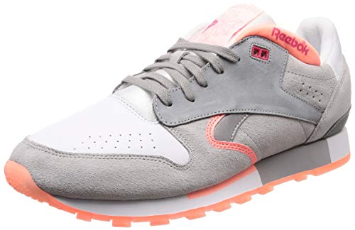 Reebok Cl R Urge, Zapatillas de Gimnasia para Hombre, Blanco (White/S Grey/D Pink/T Pink/T Grey/Silver White/S Grey/D Pink/T Pink/T Grey/Silver), 44 EU
