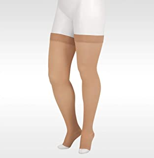 Juzo Soft 2001 Thigh-high 20-30mmhg Compression Open Toe Stocking