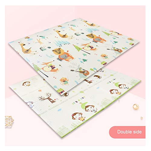 New Baby Crawling Mat Foldable Anti Slip 2 Side Child Playing Gym Mats Soft Floor Rug Toddler Pad fo...