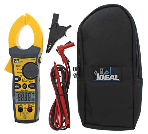 IDEAL INDUSTRIES INC. 61-765 660 Amp TightSight Clamp Meter AC/DC with TRMS, True RMS Current and Voltage, CATIII for 1000v, CATIV for 600v
