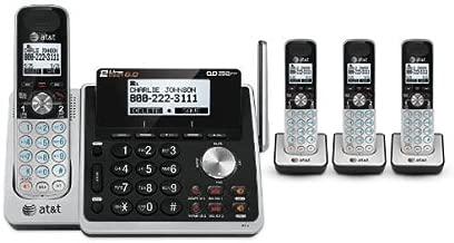 AT&T TL88102 + (3) TL88002 4 Handset Cordless Phone (2 Line) DECT 6.0