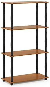 Furinno Turn-N 4-Tier Multipurpose Shelf Display Rack