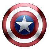 Captain America Shield Metal Movie Replica Captain America Cosplay Costume Props for Adult Red