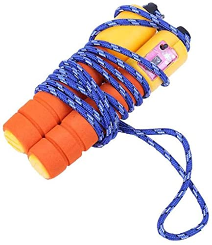angelHJQ 2.5m cuerdas de saltar algodón esponja contar alambre deportes al aire libre saltar cuerda