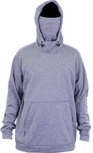 Product Image of the AFTCO Reaper Technical Fleece Hoodie - Navy Heather - Large