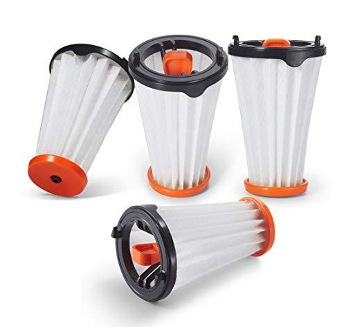 Supremery 4X CX7 Filter für AEG Rapido Ergorapido Staubsauger, Alternative zu AEG AEF144 Austauschfilter, Ersatzteile Ersatzfilter Austauschfilter für alle CX7-1 Modelle