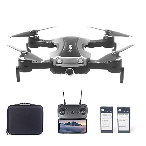 Doneioe 65G GPS RC Drone with Camera 2K 5G WiFi FPV Foldable RC Quadcopter Follow Me Altitude Hold Drone with 2 Battery