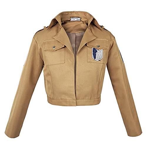CoolChange Uniform Jacke des Aufklärungstrupp für Attack on Titan Fans | Größe: L