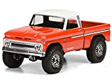 Proline 348300 1966 Chevrolet C10 Clear Body Cab & Bed, for SCX10 Honcho & Other 12.3' Wheelbase Trucks