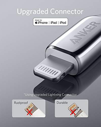 Anker PowerLine+ III USB-C auf Lightning Ladekabel, 90cm lang, Lightning Kabel mit MFi Zertifizierung, für iPhone SE/11/11 Pro / 11 Pro Max/X/XS/XR/XS Max, unterstützt Power Delivery