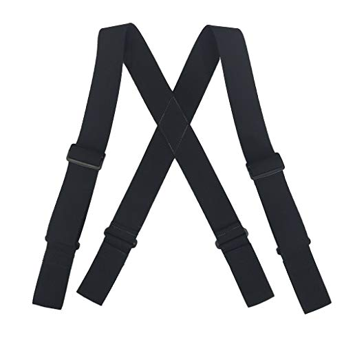 Welch Men's Elastic Ergonomic Support Suspenders (Tall Available)