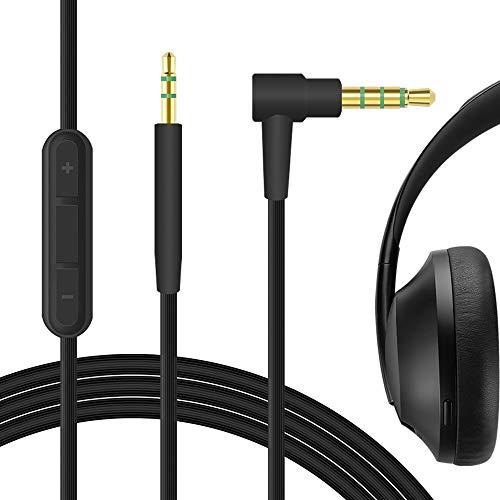 Geekria Apollo Auriculares Cable de Repuesto para Bose QuietComfort QC35, QC35 II, QuietComfort QC25, SoundTrue Headphones...