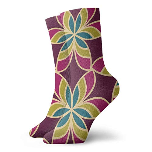 Kompressionsstrümpfe, marrokanisches Ornament, florales Muster, Textil