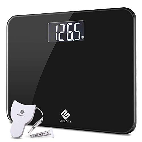 Etekcity EB4410B Báscula de Baño Digital 200 kg / 440 lbs, con 360 x