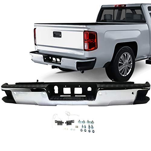 ACANII For 2014-2018 Chevy Silverado//GMC Sierra 1500 Rear Bumper Face Bar Top Step Pad w//o Corner GM1191143 23108158