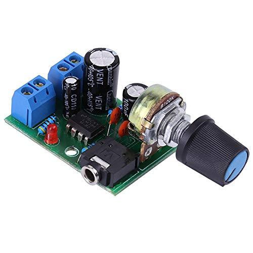 LM386 Amplificador de Potencia en miniatura, Amplificador de Potencia,Tablero del amplificador,0.5W-10W altavoz,DC 3V ~ 12V,37 mm x 41 mm
