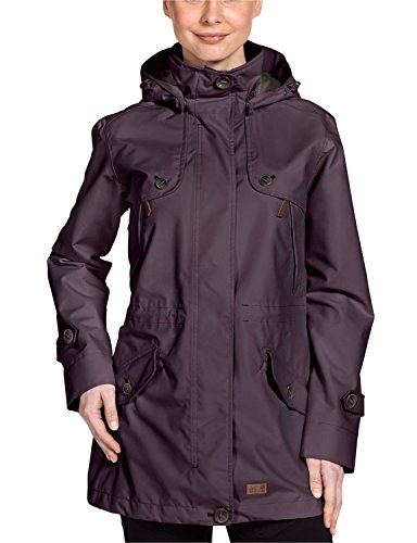 Jack Wolfskin Damen Mantel Queenstown Coat Women, Grapevine, M