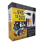 Tanouve USB Video Grabber - Scheda Acquisizione Video Convertitore VHS in Dvd per Windows 10