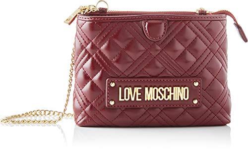Love Moschino JC4209PP0BKA0, Borsa A Spalla Donna, Vino, Normale