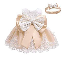Light Apricot Color Tutu Dress With Rhinestones for Baby