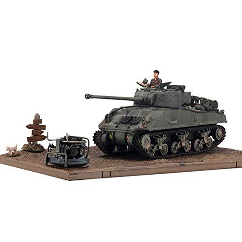EP-Toy 1/32 Maßstab Sherman Firefly Panzer Britische Armee Legierung Modell, Erwachsene Geschenk Und Collectibles, 7.3Inch X 3.1Inch