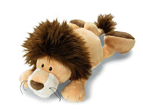 NICI 33719 - Löwe mit Kapuze liegend Wild Friends 20 cm