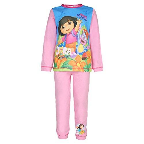 Dora The Explorer - Mädchen Schlafanzug - Offizielles Merchandise - Geschenk für Kleinkinder - Blau - 18-24 Monate