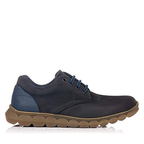 ON FOOT 560 Zapato SÒRT Piel Cordones Hombre Negro 40
