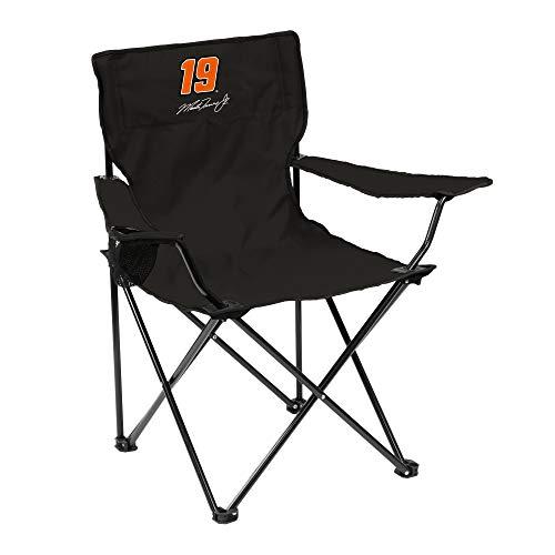 Logo Brands NASCAR Canvas Folding Quad Chair Martin Truex Jr, One Size