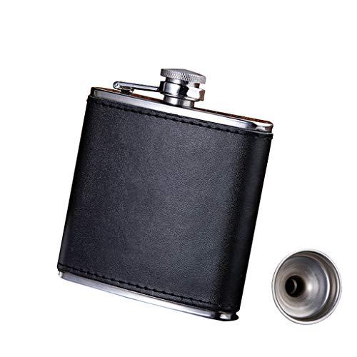 Xu-Flask Hip zuiger 6 ounces 170 ml, voor buiten beweegbare whiskey fles, Wodka Brandy wijnzakfles, BFF