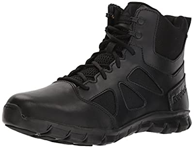 Reebok Men's Sublite Cushion Tactical RB8605 Military & Tactical Boot, Black, 11 W US