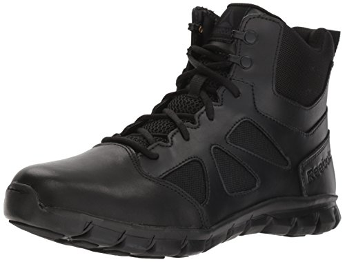 Reebok Men's Sublite Cushion Tactical RB8605 Military & Tactical Boot, Black, 11 M US