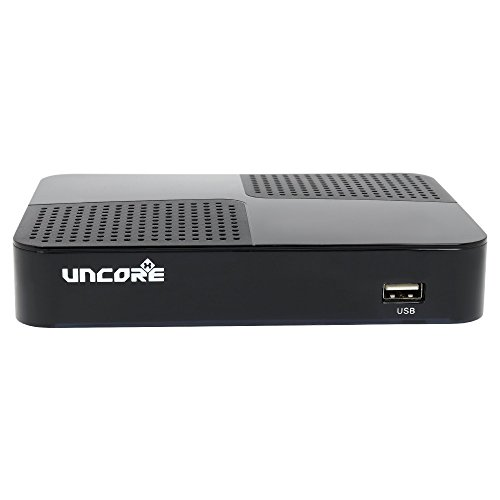 Uncorex 4K Android Digital Satelliten Receiver - Smart TV Box, 4K Ultra HD IPTV, Android 6.0 Marshmallow, KODI, Dual WiFi/LAN - generalüberholt