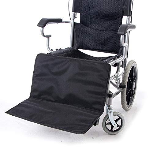 HNYG Thicken Wheelchair Footrest Extender Elevating Pad, Leg Rest Support Cushion for Wheelchair, Universal Wheelchair Foot Rest Attachment Footplate, Foldable