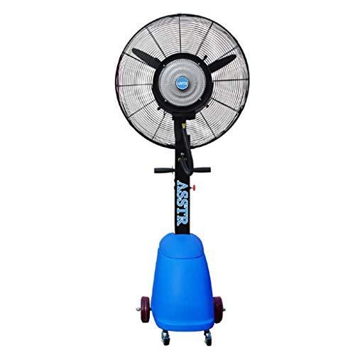 JPL Home Ventilador eléctrico, ventilador industrial Oscilante humidificador de pulverización de nebulización...