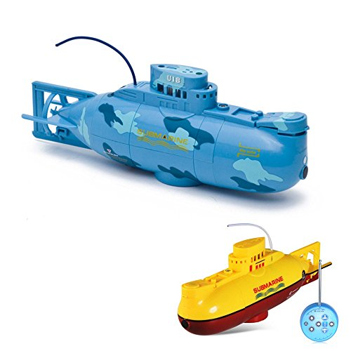 HSP Himoto RC ferngesteuertes Mini U-Boot, Komplett-Set inkl. integr. Akku, Ladegerät, Fernsteuerung