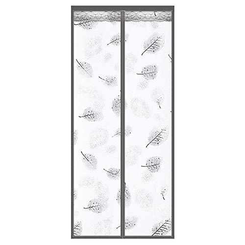 Timizi Cortina PVC Transparente 100x250CM, Cortina Puerta Exterior FáCil de Ensamblar No Requiere PerforacióN Completo MagnéTico Cortina, para La Sala De Aire Acondicionado - B